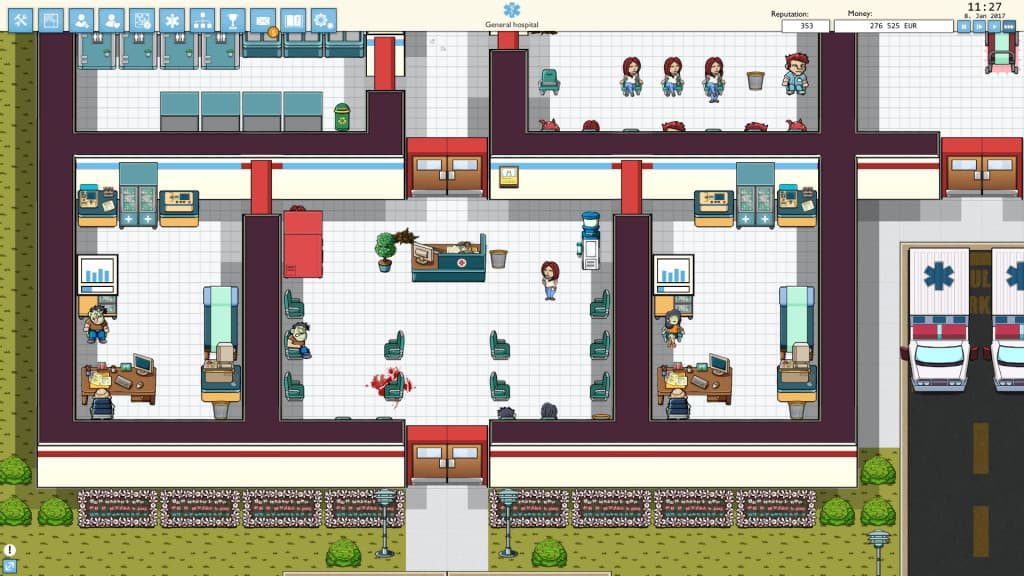 Hospital Game - You are the new administrator | Hospitalize